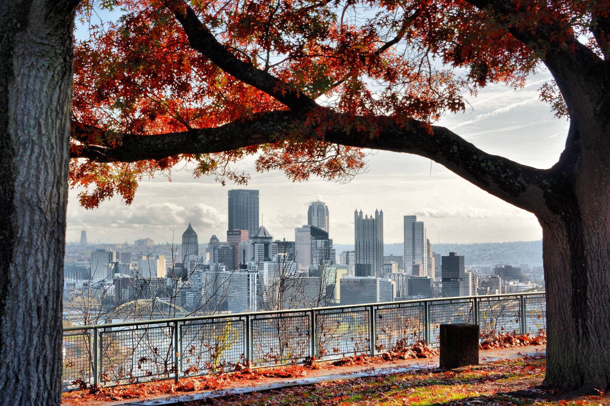 Pittsburgh skyline showing opportunities to invest